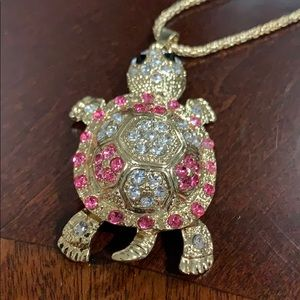 Save the Turtles Betsy Johnson inspired crystal